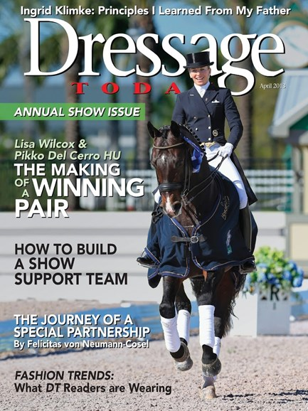 Dressage Today Cover - 4/1/2013