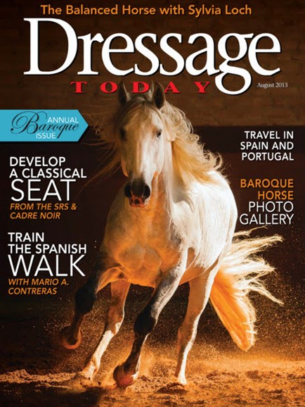 Dressage Today Cover - 8/1/2013