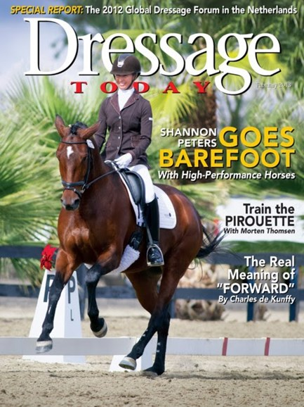 Dressage Today Cover - 2/1/2013