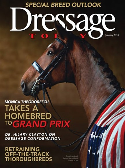 Dressage Today Cover - 1/1/2013