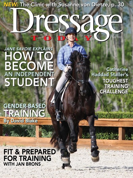 Dressage Today Cover - 7/1/2013