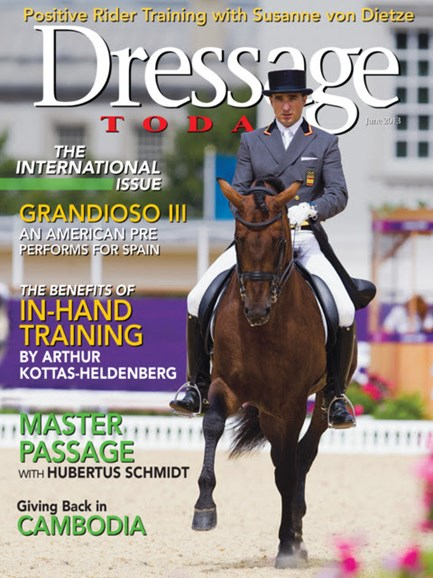 Dressage Today Cover - 6/1/2013