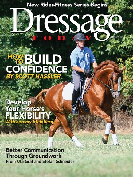 Dressage Today Cover - 3/1/2013