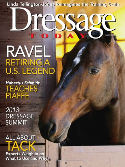 Dressage Today Cover - 5/1/2013