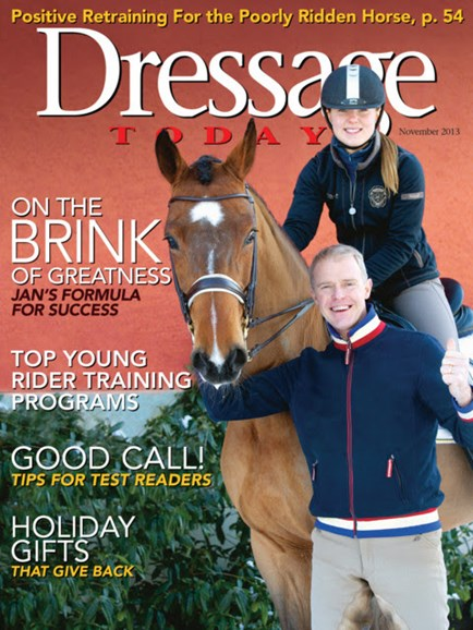 Dressage Today Cover - 11/1/2013
