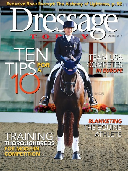 Dressage Today Cover - 10/1/2013