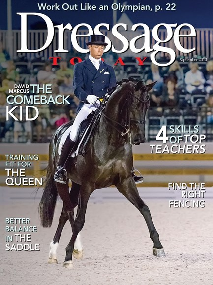 Dressage Today Cover - 9/1/2013