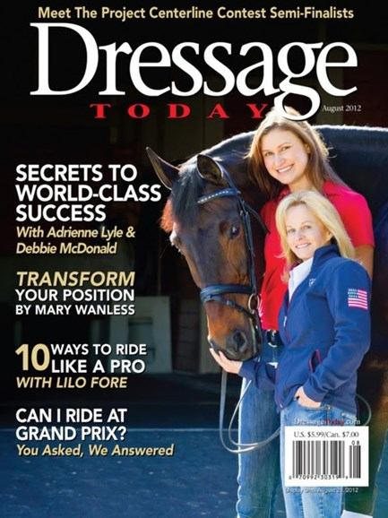 Dressage Today Cover - 8/1/2012
