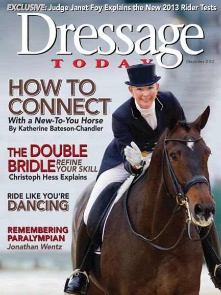 Dressage Today Cover - 12/1/2012
