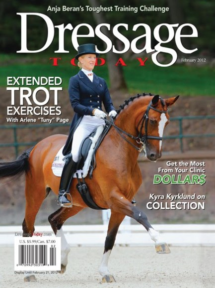 Dressage Today Cover - 2/1/2012