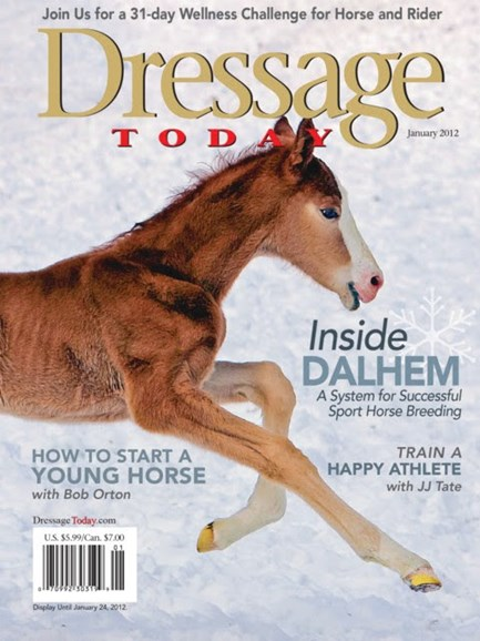 Dressage Today Cover - 1/1/2012