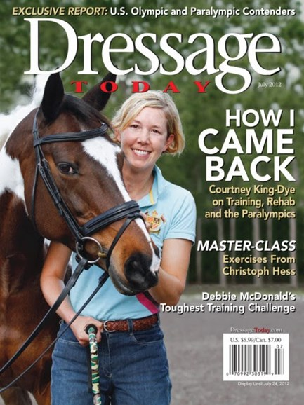 Dressage Today Cover - 7/1/2012