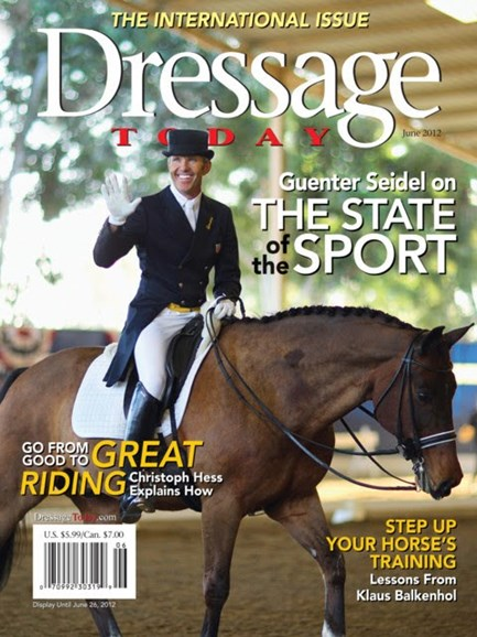Dressage Today Cover - 6/1/2012