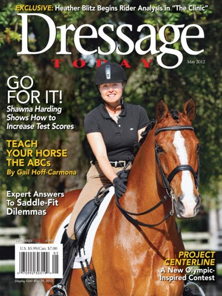 Dressage Today Cover - 5/1/2012