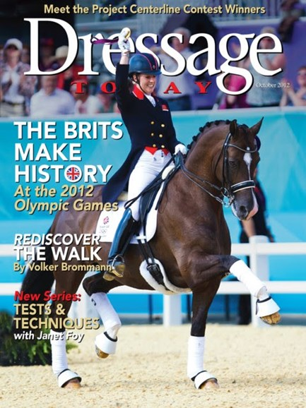 Dressage Today Cover - 10/1/2012
