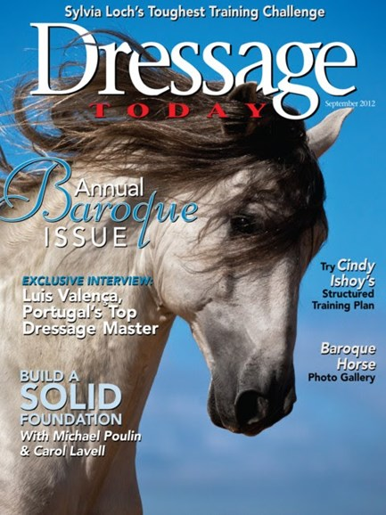 Dressage Today Cover - 9/1/2012