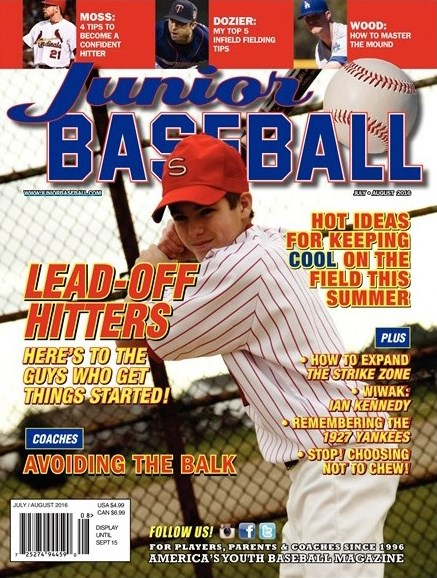 Junior Baseball Cover - 7/1/2016