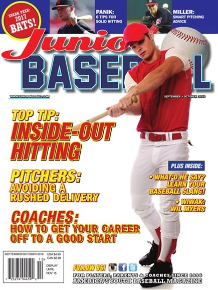 Junior Baseball Cover - 9/1/2016