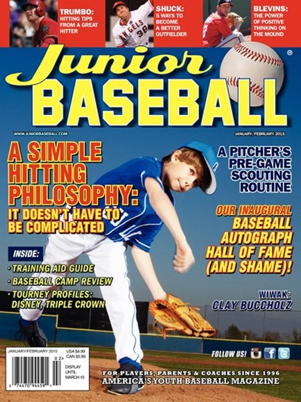 Junior Baseball Cover - 1/1/2015