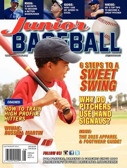 Junior Baseball Cover - 7/1/2015