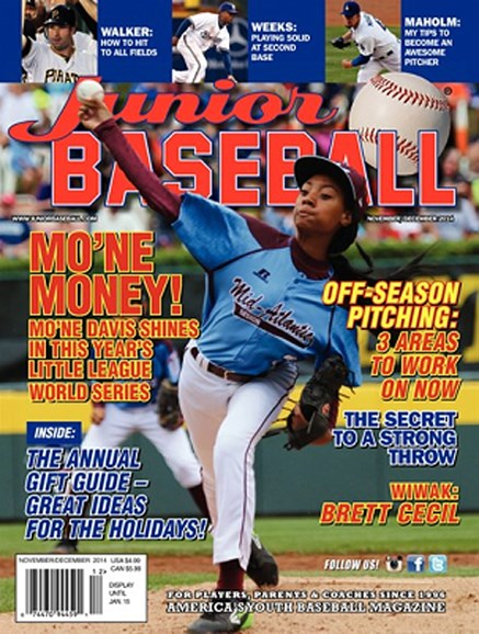 Junior Baseball Cover - 11/1/2014