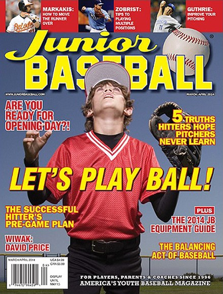 Junior Baseball Cover - 3/1/2014