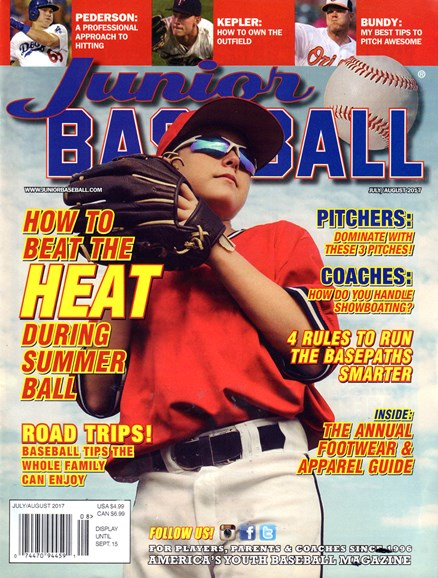 Junior Baseball Cover - 7/1/2017