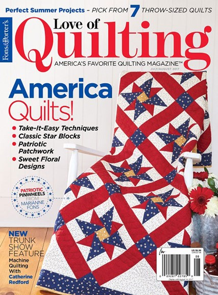 Fons & Porter's Love of Quilting Cover - 7/1/2017