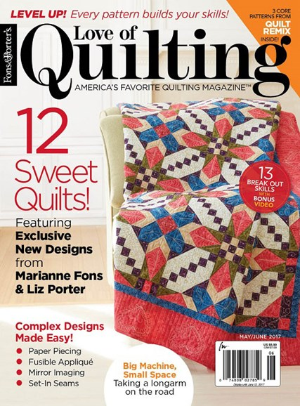 Fons & Porter's Love of Quilting Cover - 5/1/2017