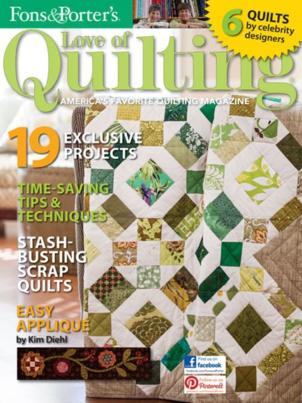 Fons & Porter's Love of Quilting Cover - 3/1/2013