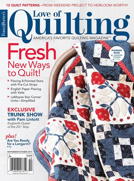 Fons & Porter's Love of Quilting Cover - 9/1/2017