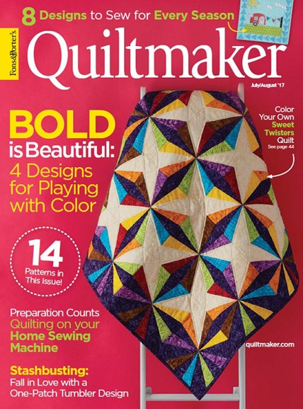 Quiltmaker Cover - 7/1/2017