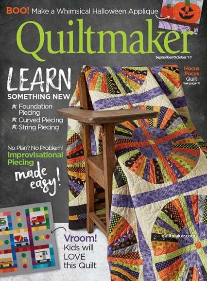 Quiltmaker Cover - 9/1/2017
