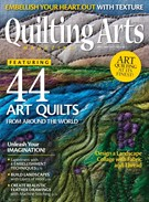 Quilting Arts Magazine 4/1/2017