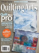 Quilting Arts Magazine 8/1/2017