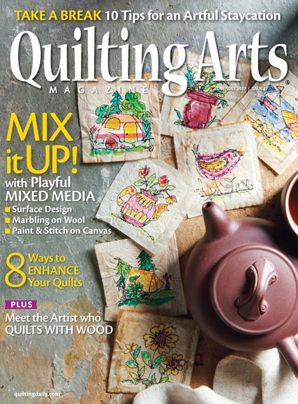 Quilting Arts Cover - 6/1/2017
