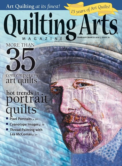 Quilting Arts Cover - 2/1/2016