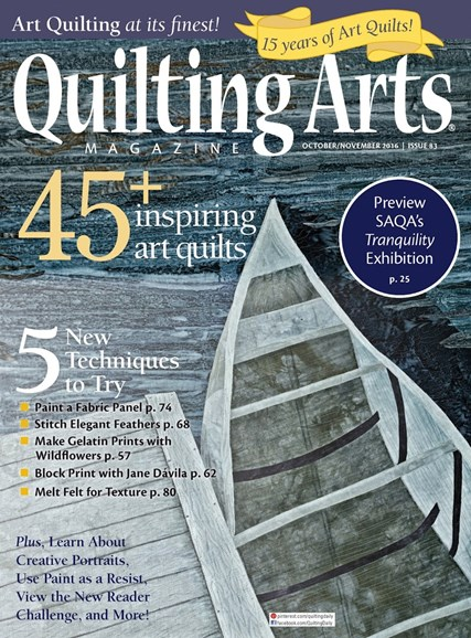 Quilting Arts Cover - 10/1/2016
