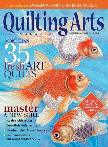 Quilting Arts Cover - 10/1/2015