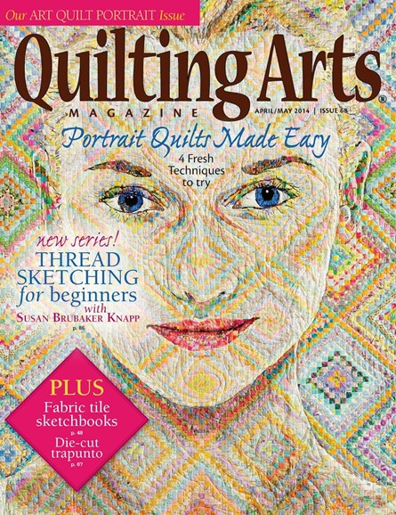 Quilting Arts Cover - 4/1/2014