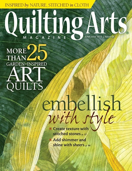 Quilting Arts Cover - 6/1/2014