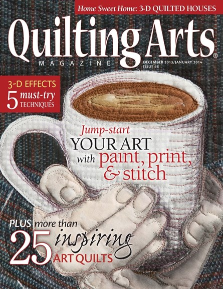 Quilting Arts Cover - 12/1/2013