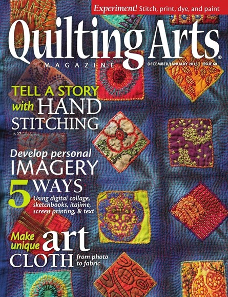 Quilting Arts Cover - 12/1/2012