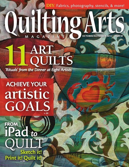 Quilting Arts Cover - 10/1/2012