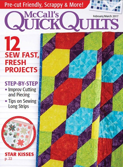 McCall's Quick Quilts Cover - 2/1/2017
