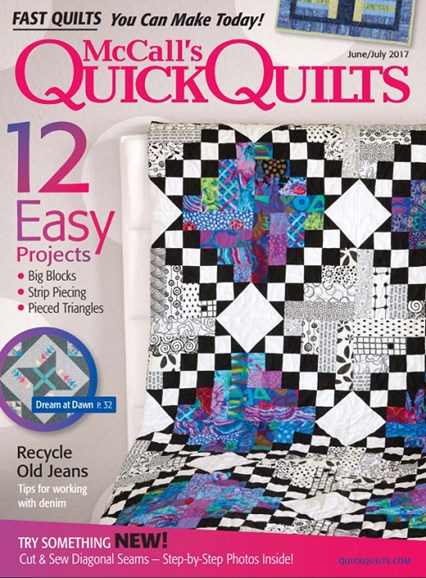 McCall's Quick Quilts Cover - 6/1/2017