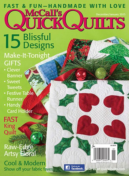 McCall's Quick Quilts Cover - 12/1/2014