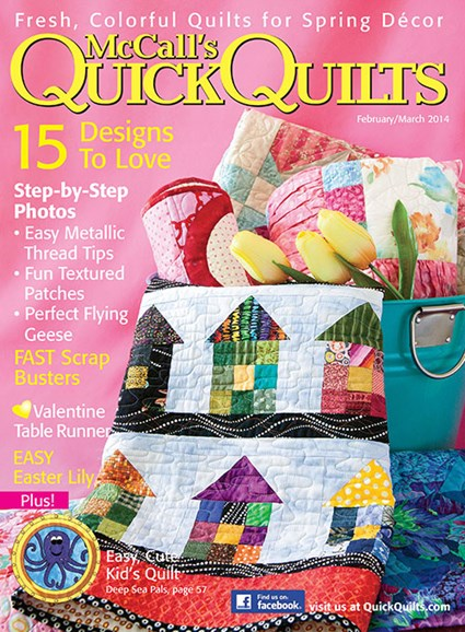 McCall's Quick Quilts Cover - 2/1/2014