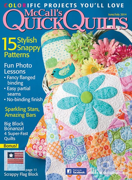 McCall's Quick Quilts Cover - 6/1/2014