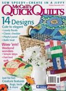 Quick Quilts Magazine 10/1/2014
